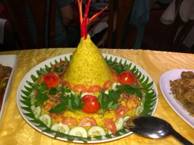 Special Indonesian rice dish