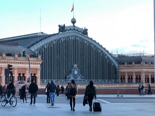 Atocha station, impressive architecture