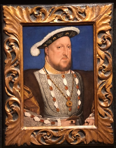 Holbein's famous Henry VIII
