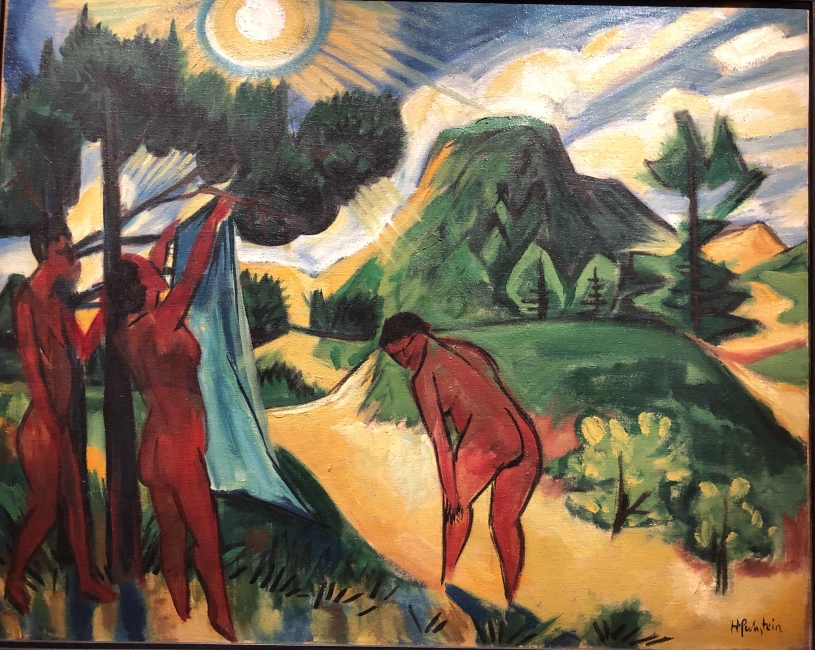 Max Pechstein, again fabulous colour
