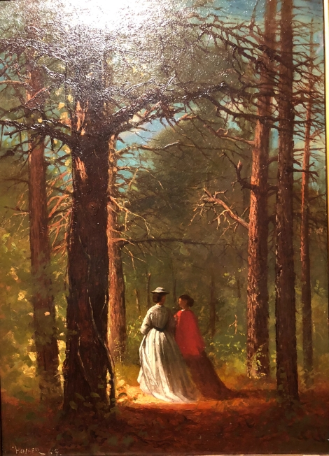 Here's American artist Winslow Homer in 1864. Look at that light