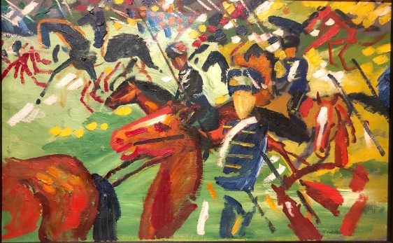 Loved August Macke's colours
