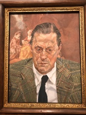 Count Thyssen by Lucian Freud