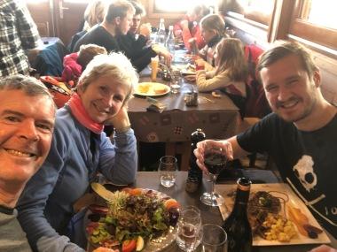 Xmas lunch at La Cremaileure