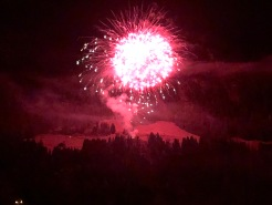 Fabulous fireworks this year light up the Dents