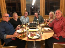 Dinner chez nous, the traditional Raclette evening!