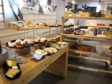 The cheese room in Morzine!