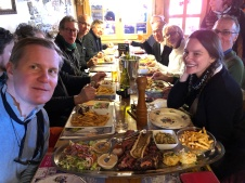 Ah Stationers'lunch! Chez Nannon and cote de boeuf