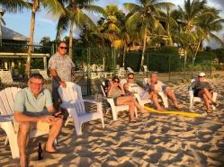 G&Ts on the beach
