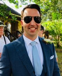 Hot work being a groom!