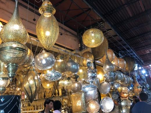 The famous Marrakech ironwork
