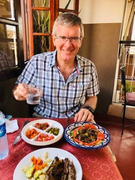 Great lunch at the Terrasse de la Medersa