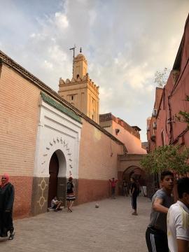 The Ben Youssef Mosque