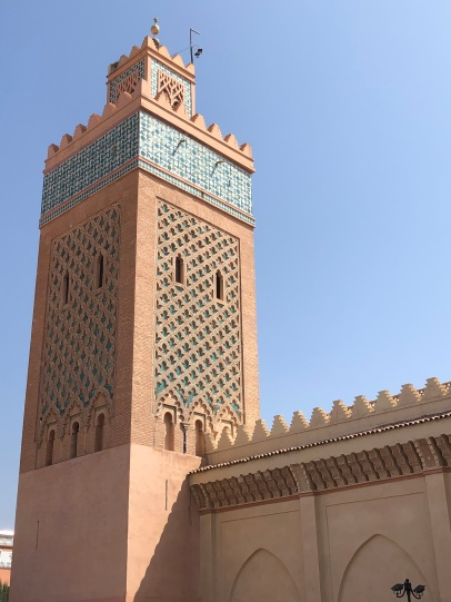 Mosque that guards the Tombs