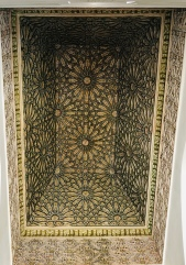 Ceiling at Saadain Tombs
