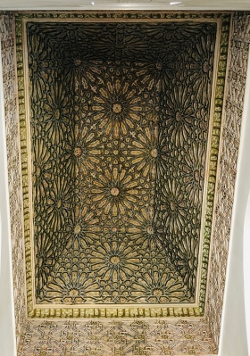 Ceiling at Saadain Tombs