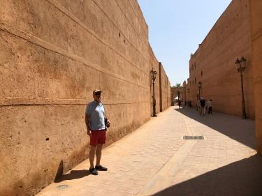 The ochre of Marrakech