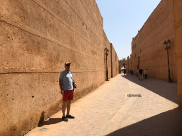 The ochre of Marrakech