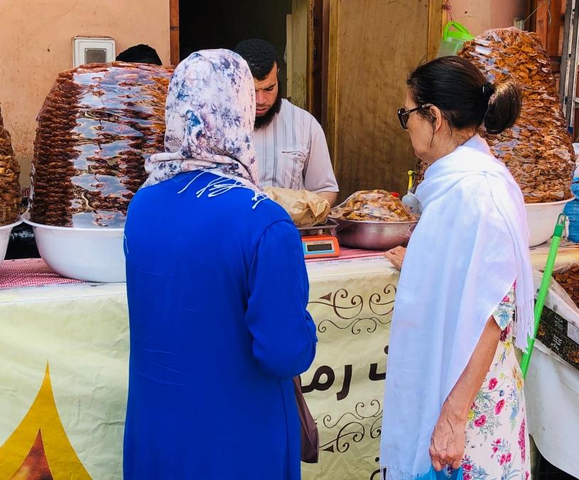 Queuing up for Ramadan sweetmeats