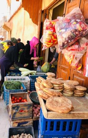 Bread stall
