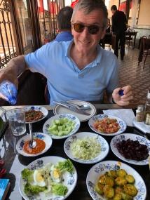 The welsh set menu at Cafe Badia