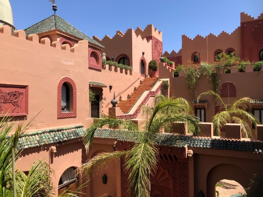 The Kasbah walls