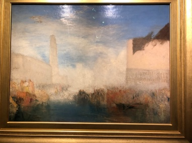 He was a great admirer of Turner so fitting there should be an exhibit to celebrate his bi-centenary