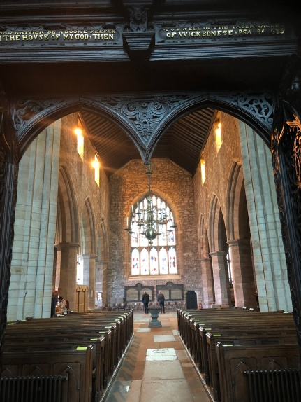 Cartmel Priory interior