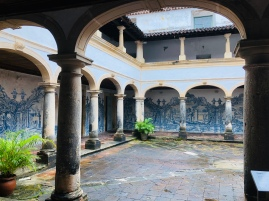 The early 16 century cloister