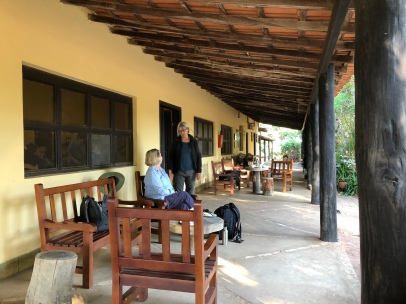 The veranda at Pouso Alegre