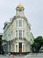 Flat iron building in Recife