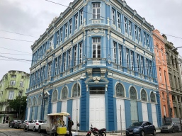 Beautifully restored buildings in Recife