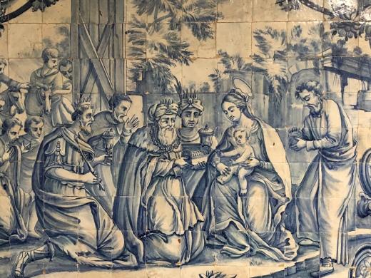 16 century Portuguese tiles