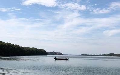Fishermen on the Danube