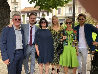Ross, Tommy, Alex, Anna, moi, Dan