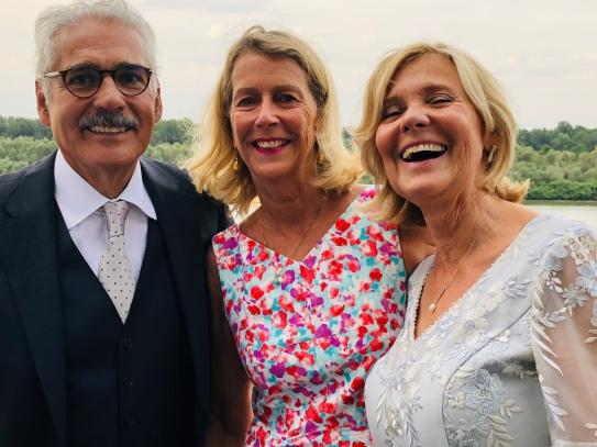 Diego, Anne and Christine