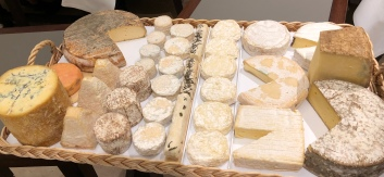 Local cheeses...