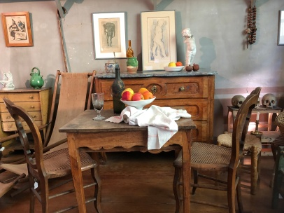 Cezanne's dining table