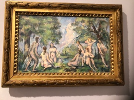 A small bathers in the Musee Granet