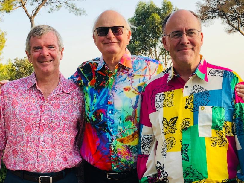 The boys in glorious technicolour
