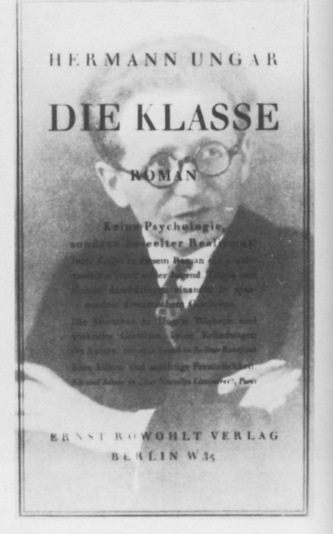 First edition of Ungars' third novel