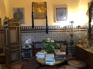 Interior of the Casa Andalusi, a museum to a way of life