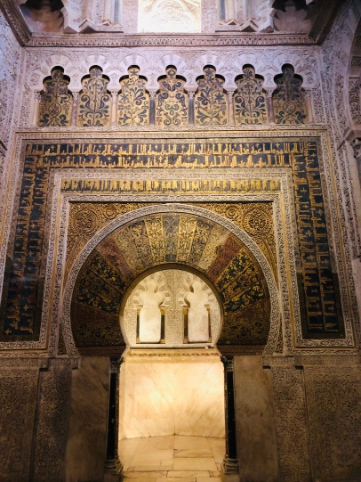 The fabulous guided Mihrab encrusted with thousands of jewels