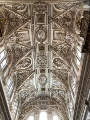 Baroque ceiling in the cathedral - Charles V