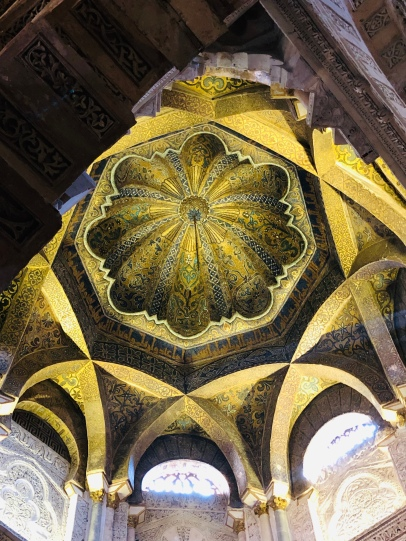 The roof of the Mihrab