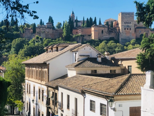 Alhambra towers over all