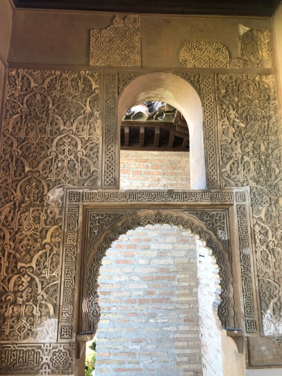 Inside the Palacio Dar al-Horra