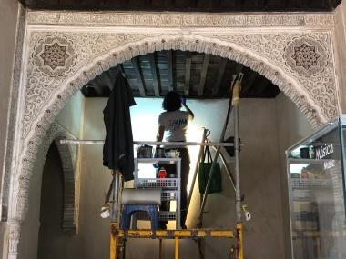 Renovating the Palacio Dar al-Horra