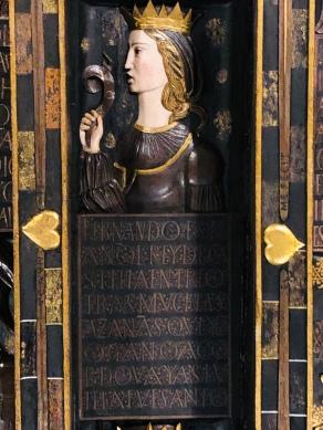 Detail from Casa de los Tiros, Isabella again!