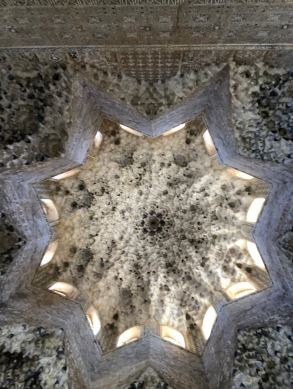 The honeycomb ceiling, picture does not do it justice